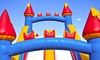 All In Fun - Sandy: One-Day Rental of Bounce House or Castle with Slide and Optional Bubble Machine from All In Fun (Up to 51% Off)