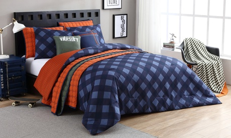 Jordan Microfiber Reversible Quilted Coverlet or Comforter Set