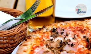 il Veliero Genova: Menu pizza con antipasto, dolce e birra per 2 o 4 persone da il Veliero (sconto fino a 64%)