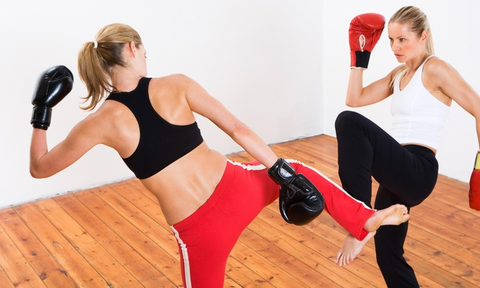Girl Fight - Toms River: Four Weeks of Unlimited Boxing or Kickboxing Classes at GIRL FIGHT (55% Off)