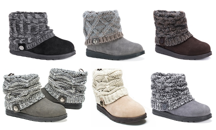 5c94b7323e9b9 Up To 47% Off on Muk Luks Women s Patti Boots