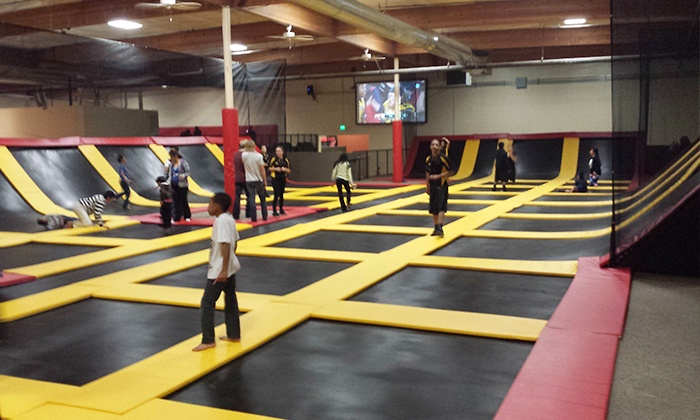 Aerozone Trampoline Park - Hoover: Two Hours of Trampoline Jumping for Two, Four, or Six at Aerozone (Up to 50% Off)