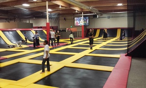 Aerozone Trampoline Park: Two Hours of Trampoline Jumping for Two, Four, or Six at Aerozone (Up to 50% Off)