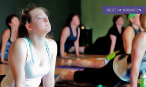 Yoga Flow: $49 for One Month of Unlimited Heated Yoga Classes for New Students at Yoga Flow ($99 Value)