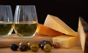Talk of The Table: Wine and Cheese Tasting for Two or Four at Talk of The Table (41% Off)