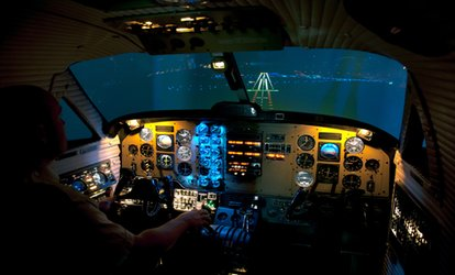 image for One-Hour Flight Simulator Experience at Northumbria Flying School, Two Locations (75% Off)