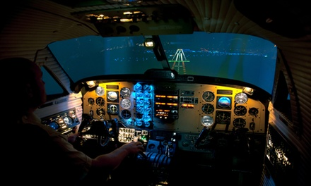 One-Hour Flight Simulator Experience at Northumbria Flying School, Two Locations (75% Off)