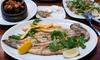 3-Gänge-Fisch-Menü