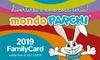 Una o 2 Family Card MondoParchi