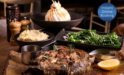 Lamb Shoulder, Sides and Dessert for Two ($89) or Four People ($178) at Clifford's Grill & Lounge (Up to $232 Value)