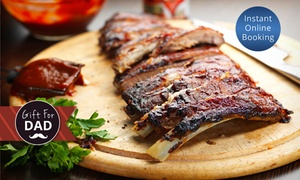 Blend Bar & Restaurant: All-You-Can-Eat Ribs with Drink for Two ($39) or Four People ($75) at Blend Bar & Restaurant (Up to $140 Value)