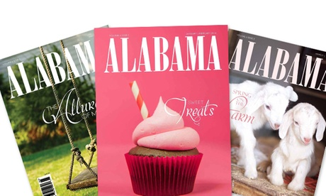 $15 for a One-Year Subscription to Alabama Magazine ($26.95 Value)