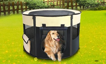 Large Portable Soft Pet Playpen