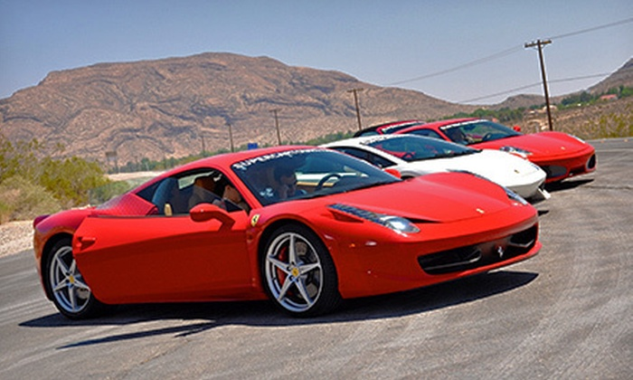 World Class Driving- Las Vegas - Paradise: $399 for a Red Rock Canyon Tour Exotic-Car Driving Experience for Two from World Class Driving ($729 Value)