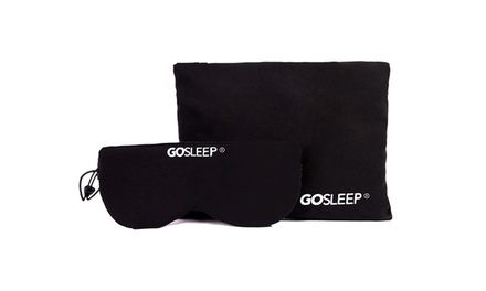 Travel Pillow and Sleep Mask at GOSLEEP
