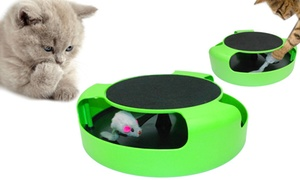 Jouet pour chat, peluche souris