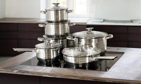 Batería de cocina Blaumann de 10 o 12 piezas