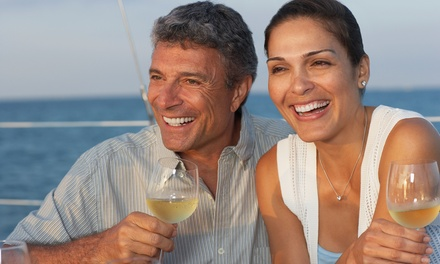90Minute Romantic Slow Cruise with Welcome Drinks for Two at Water Freaks