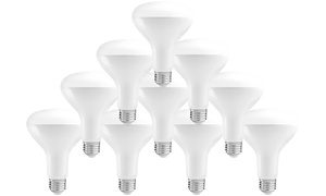Pursonic LED Light Bulbs (10-Pack)