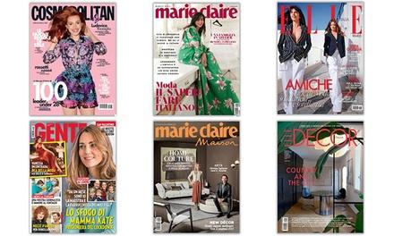 Gente, Cosmopolitan - Abbonamenti a 14,90€euro
