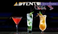 Three or Six Cocktails at Adventure Bar & Lounge, Three Locations (Up to 65% Off)