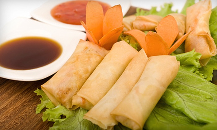 Rangoon Restaurant - Centretown - Downtown: Authentic Burmese Cuisine at Rangoon Restaurant (Up to 54% Off). Two Options Available.