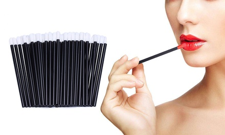 Disposable Lip Brushes: 50 Pieces ($9.95), 100 Pieces ($12.95) or 200 Pieces ($16.95)
