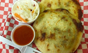 La Pupusa y Mas: Salvadoran Food and Drinks at La Pupusa y Mas (50% Off)