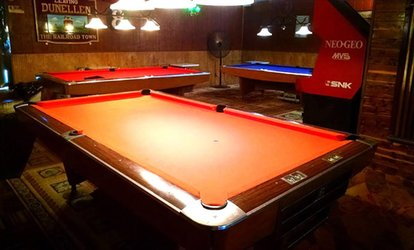 image for $12 for One Hour of Billiards with Sodas and French Fries at The Break Arcade ($22 Value)