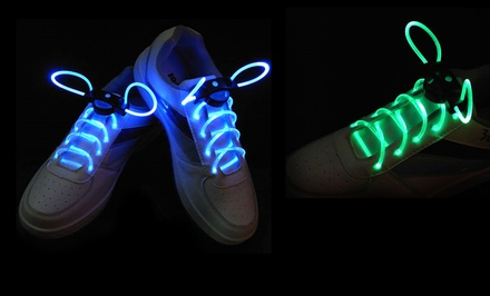 2 Pairs of LED Shoelaces