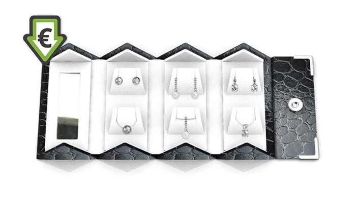 Coffret Luxury Travel de 3 parures ornes de cristaux Swarovski® à 2499 € livraison offerte (91% de rduction)