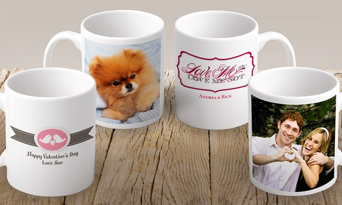 Vistaprint Personalized Photo Mug: Vistaprint Personalized Photo Mug