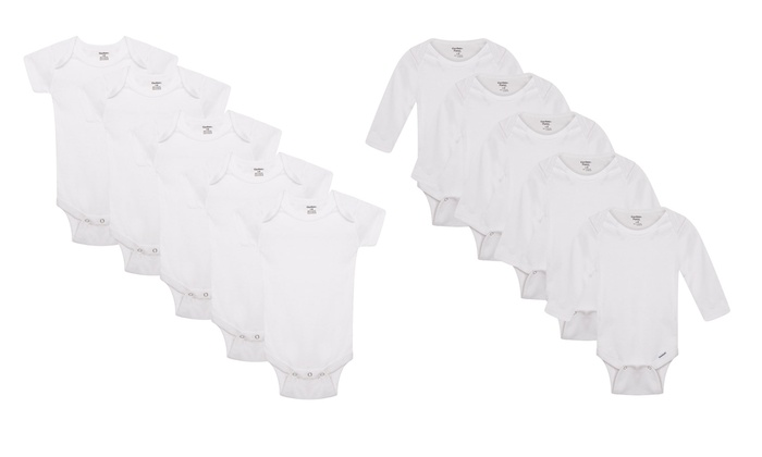 Five-Pack of 100% Cotton Baby Romper