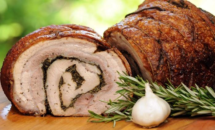 Gran menu in pineta con uno o 2 litri di vino per 2 o 4 persone al ristorante Il Piccolo Paradiso (sconto fino a 59%)