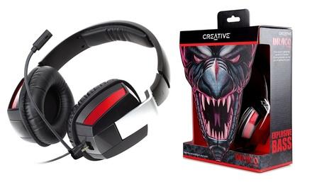 Creative Draco HS-850-Headset  Kopfhörer und Kondensatormikrofon refurbished inkl. Versand (Munchen)
