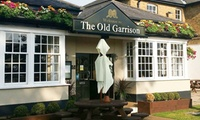 Pub Lunch for Two or Four at The Old Garrison (Up to 41% Off)