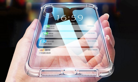 $12.95 for 6D Shockproof Transparent Protection Case for iPhone