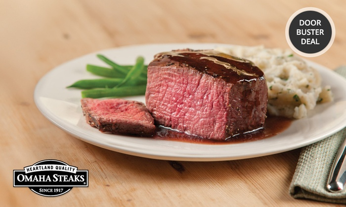 Omaha Steaks Variety Packs Groupon Goods