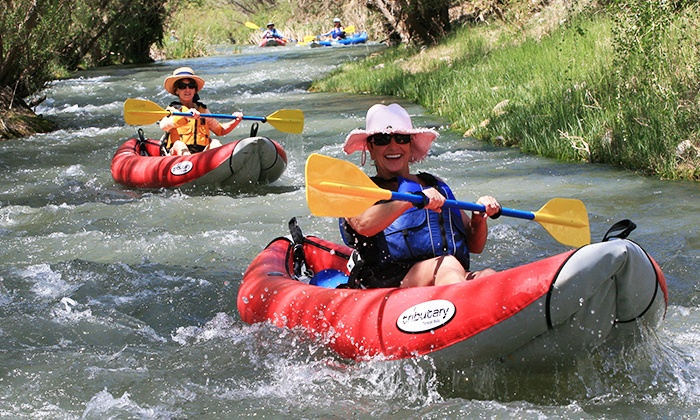 Sedona Adventure Tours - Clarkdale: Guided Verde River Kayak Trip for One, Two, or Four from Sedona Adventure Tours (Up to 52% Off)