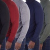X-Ray Men's Lightweight Turtleneck Soft-Touch Sweater Pullover