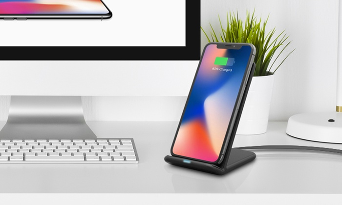 Wireless Desktop Charging Stand with LED Indicator