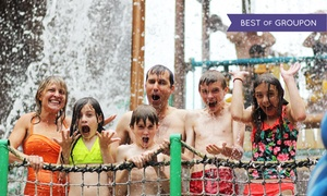 Six Flags Water-Park Hotel in Upstate New York at Six Flags Great Escape Lodge & Indoor Waterpark, plus 6.0% Cash Back from Ebates.