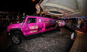 Hummers In Paradise: Vegas-Style Hummer/Limo Club Experience for 1 ($49), 8 ($392) or 14 ($680) at Hummers in Paradise (Up to $1,680 Value)