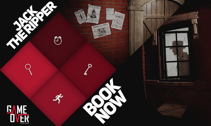 Escape Game Over - Derby: Jack the Ripper Live Escape Game for Up to Six at Escape Game Over (46% Off)