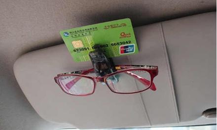 2, 4 o 6 porta gafas para coche Silvano
