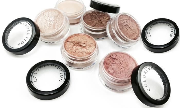 colorevolution eyeshadow set groupon goods