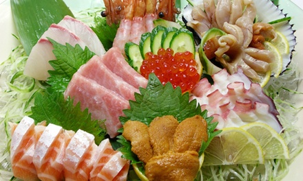 $12 for $22 Worth of Sushi and Japanese Food for Dinner at Hana Japanese Restaurant