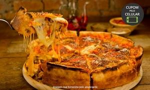 Jardim ô Fio: Jardim ô Fio - Morumbi:entrada de crostini tradicional + 1 pizza estufada para até 4 ou 8 pessoas