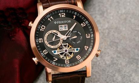 Reloj para hombre Heritor Automatic disponible en varios colores por 169,99 €