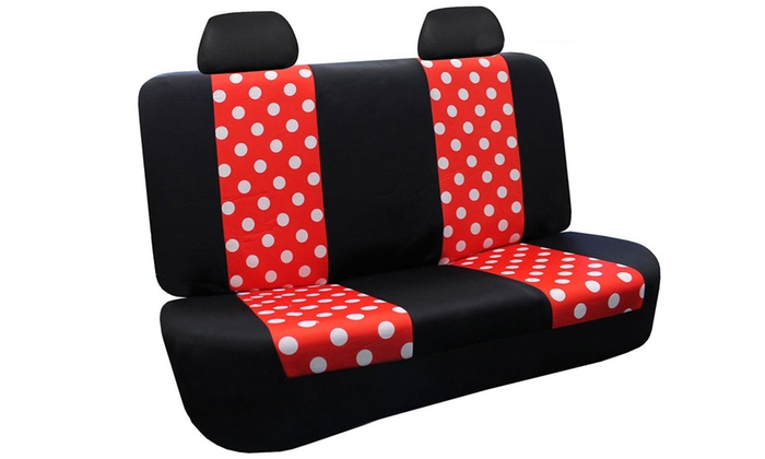 Up To 65 Off On Polka Dot Car Seat Covers